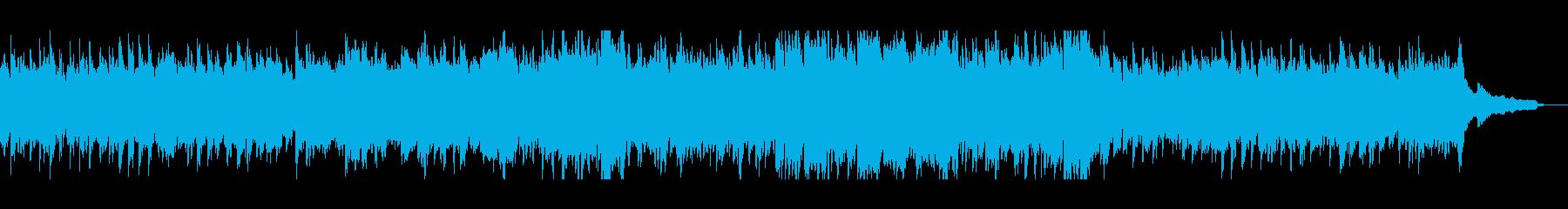 ピアノの素敵な音色の優雅なバラードの再生済みの波形