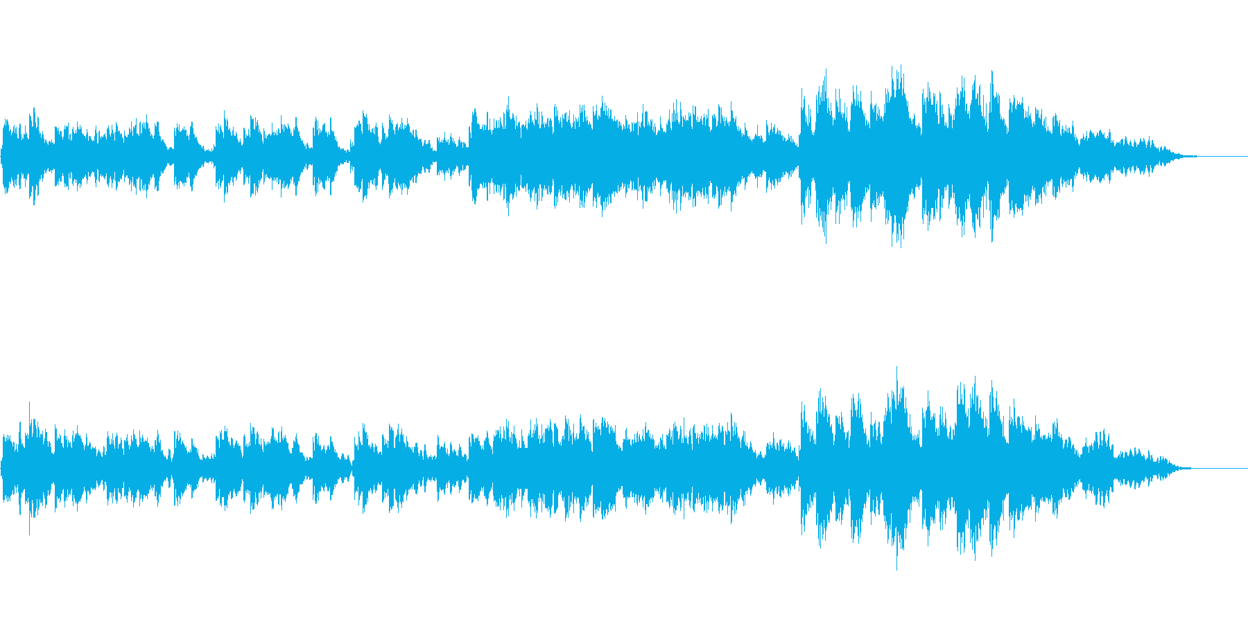 ラブ・バラード(ドリーミーな雰囲気)の再生済みの波形