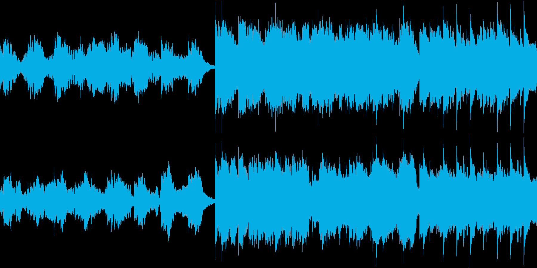 かわいい 感動 FF風 ループの再生済みの波形