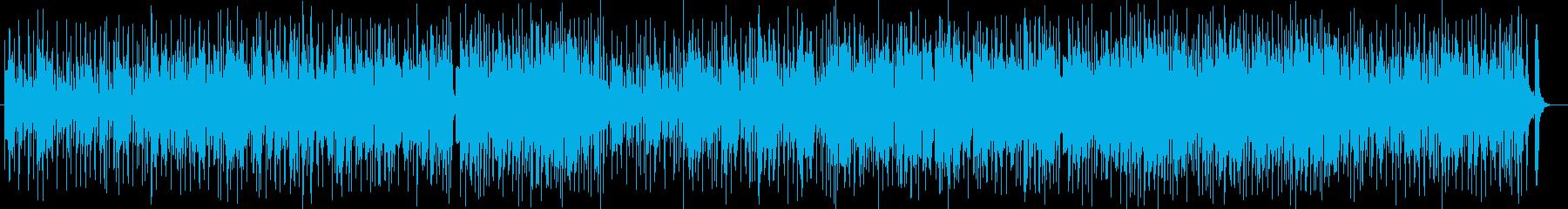 ポップでしなやかなシンセポップスの再生済みの波形