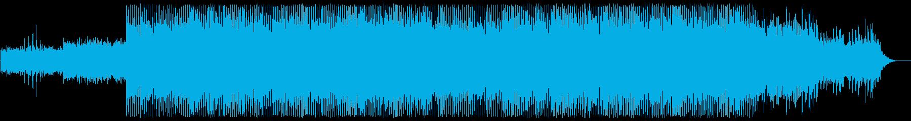 軽やかでリズミカルなシンセポップサウンドの再生済みの波形