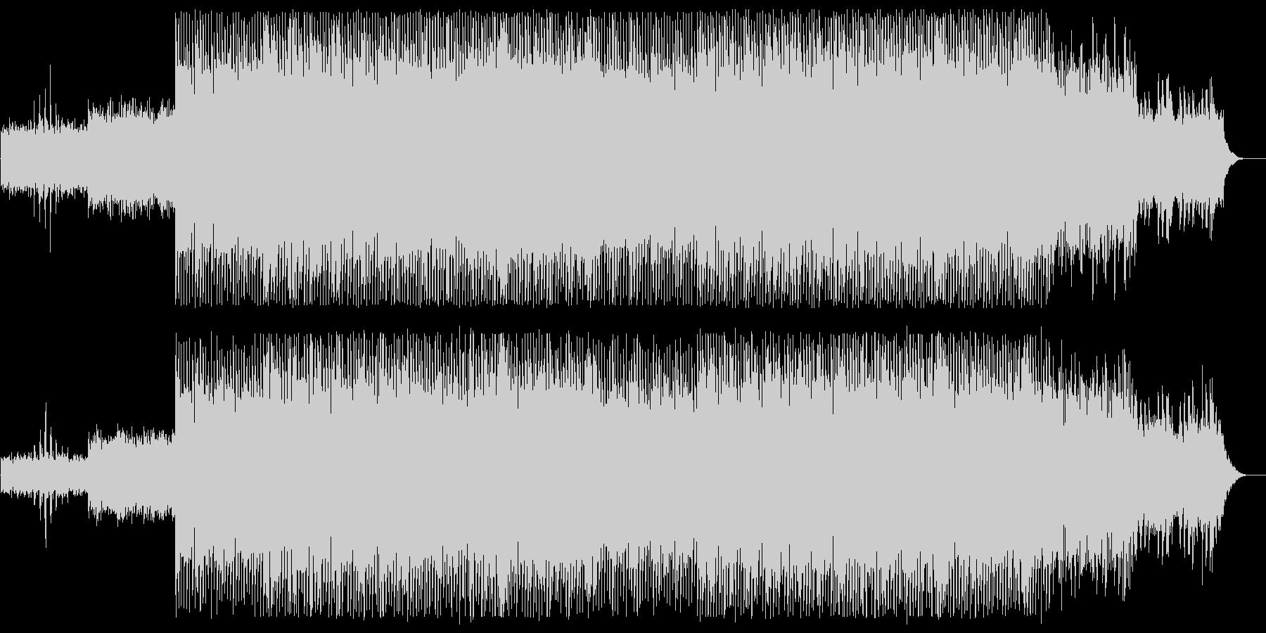 軽やかでリズミカルなシンセポップサウンドの未再生の波形