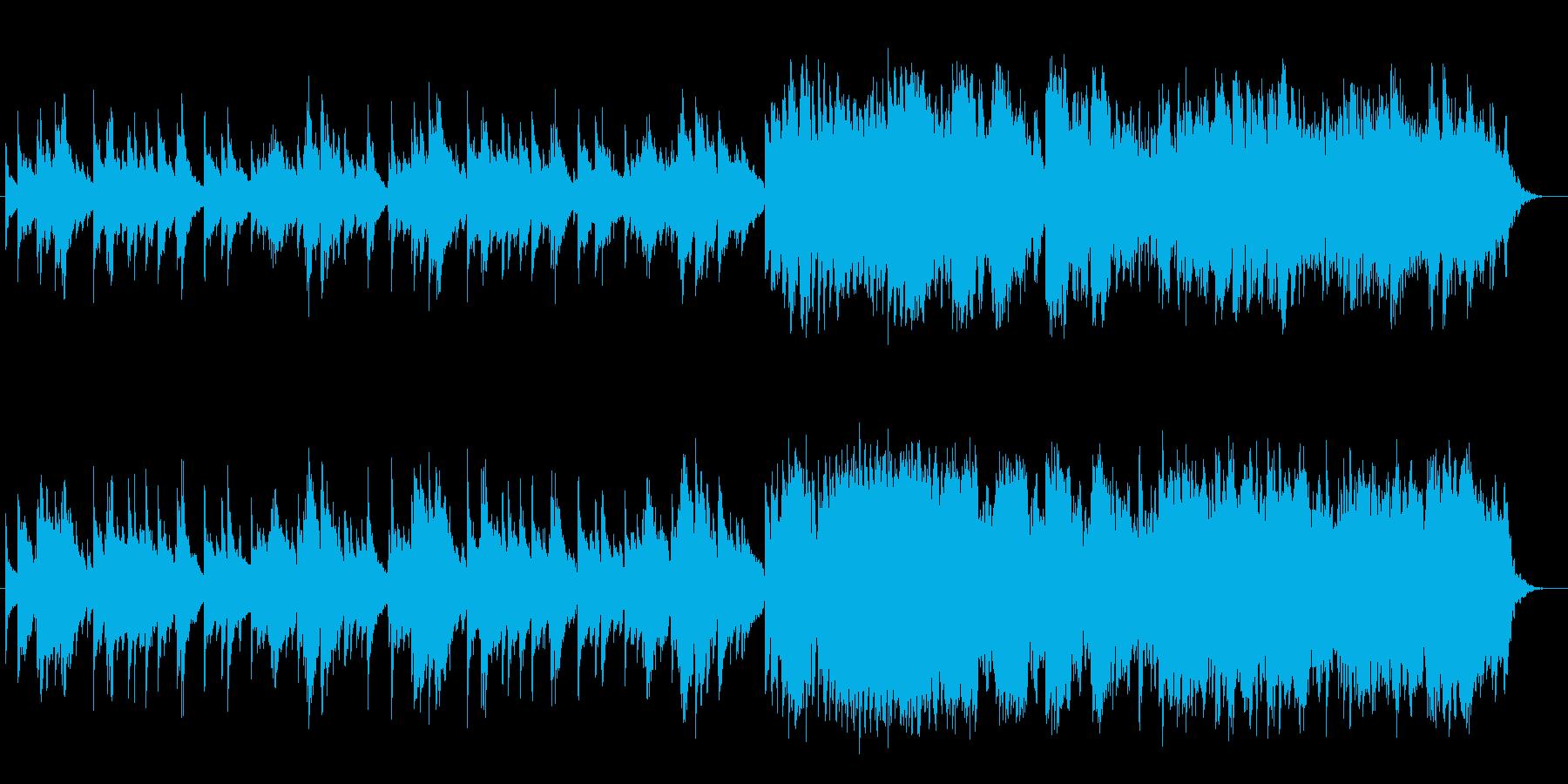 ピアノによる切ないスローバラードの再生済みの波形