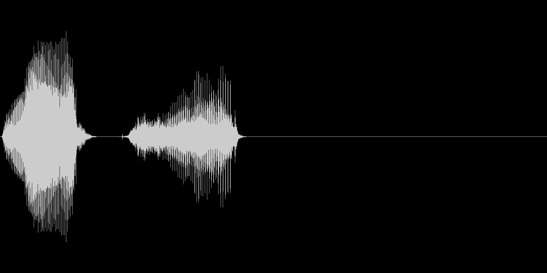 日(にち)の未再生の波形