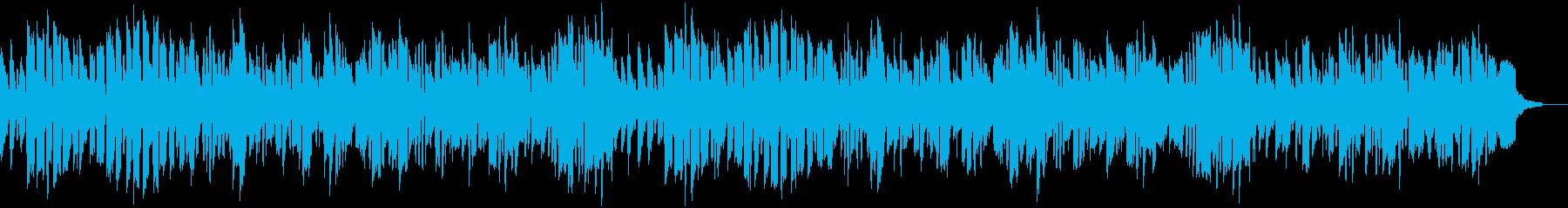 【リズム抜】ほのぼのとした場面に合う劇伴の再生済みの波形