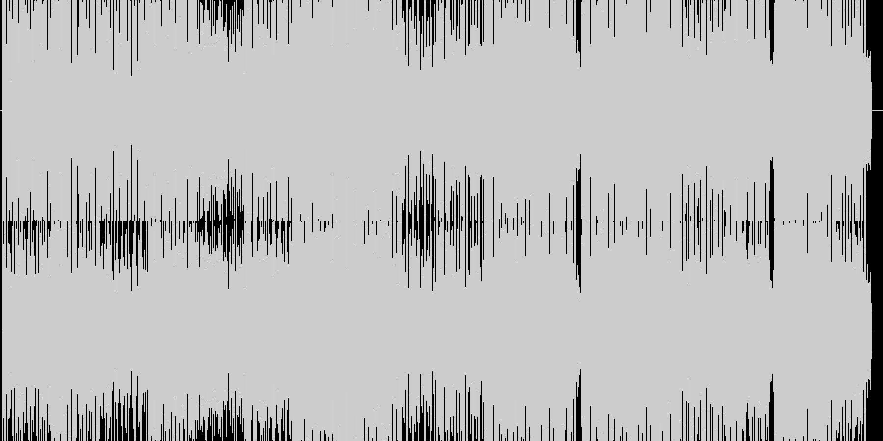明るいインド風BGM(エレクトロ)の未再生の波形