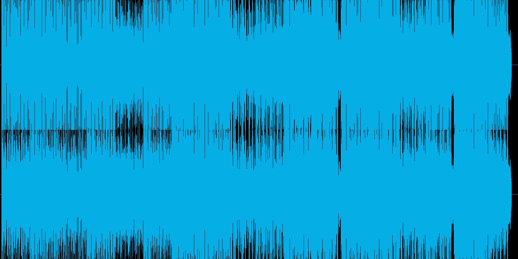 明るいインド風BGM(エレクトロ)の再生済みの波形