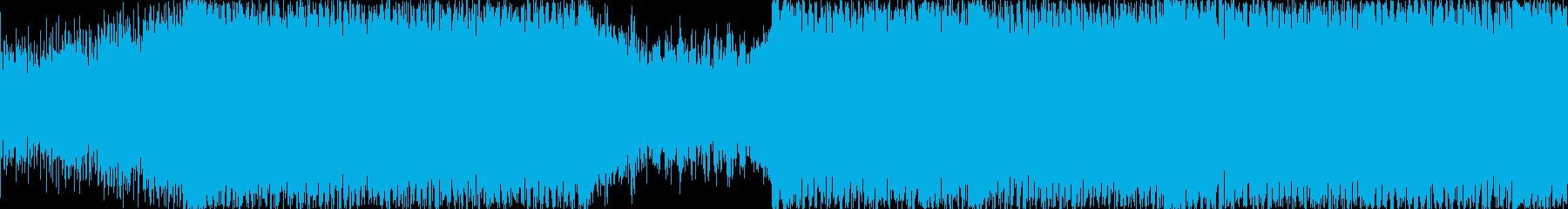 探索系の曲<short,loop仕様>…の再生済みの波形