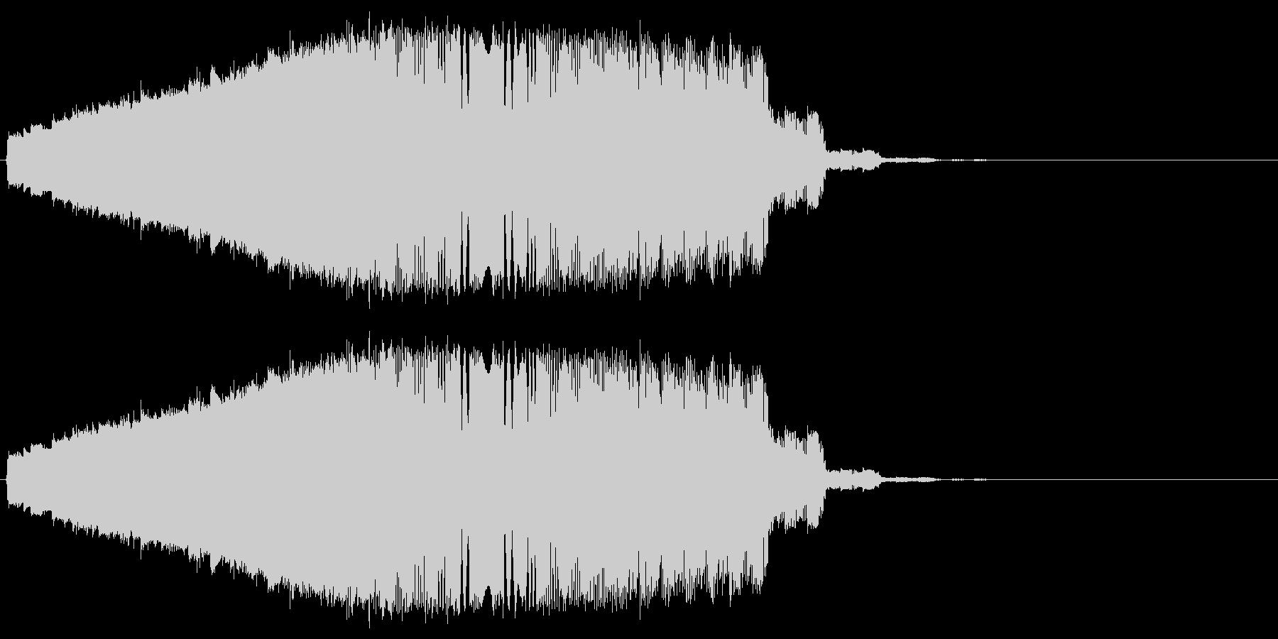 ファンタジック飛行 ピロロロの未再生の波形