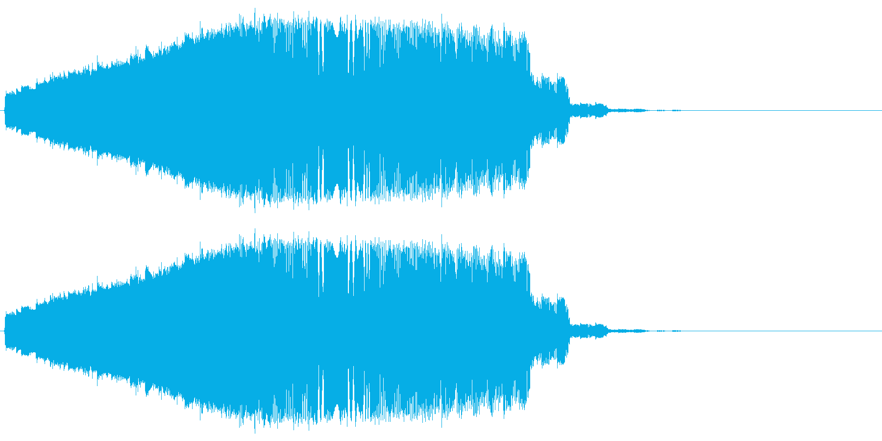 ファンタジック飛行 ピロロロの再生済みの波形