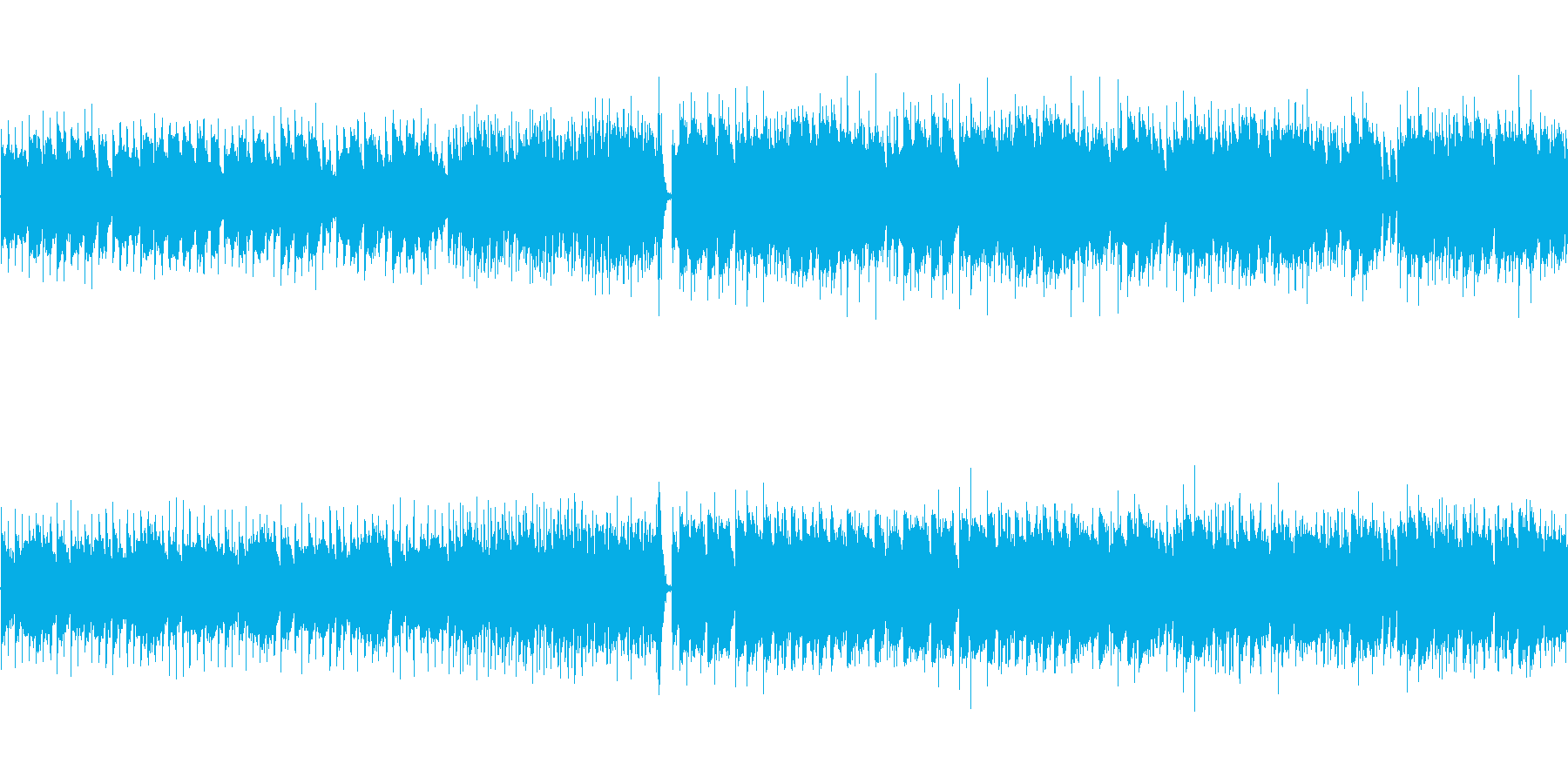 【ピアノメインのポップス】の再生済みの波形