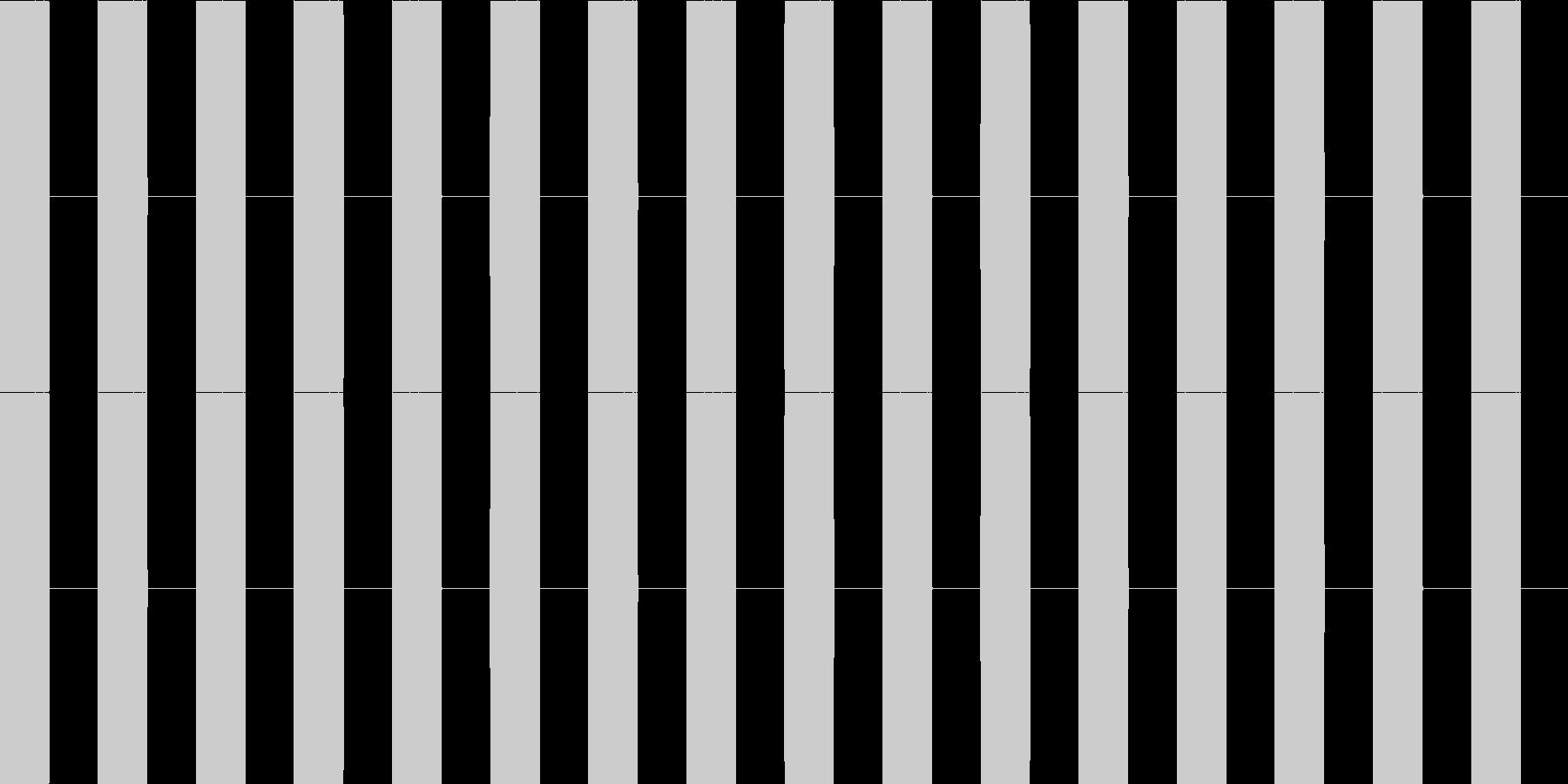 プープー...。電話の話し中の音(長)の未再生の波形