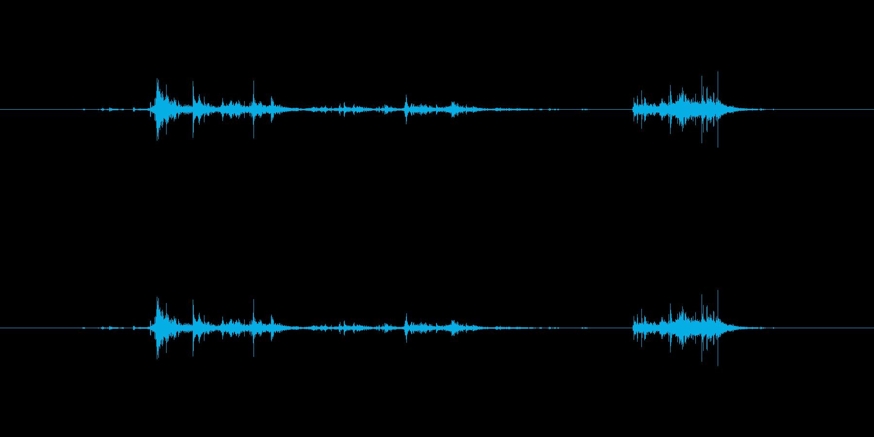【新聞01-3(めくる)】の再生済みの波形