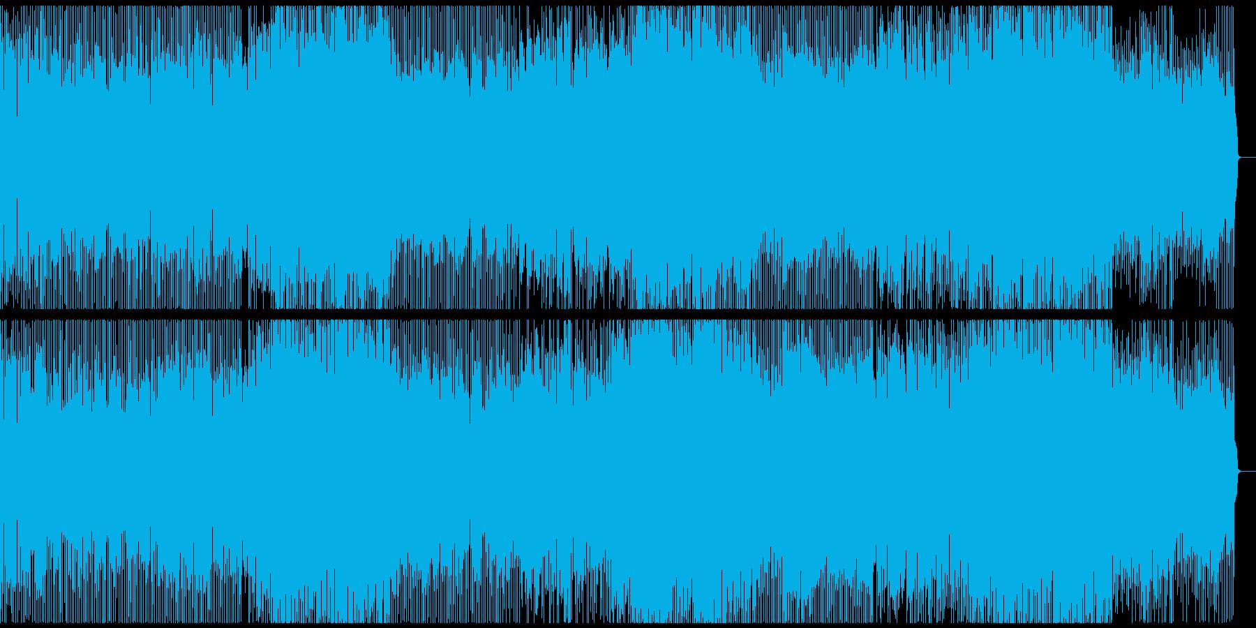 口笛が印象的なビートルズ風英語の元気な歌の再生済みの波形