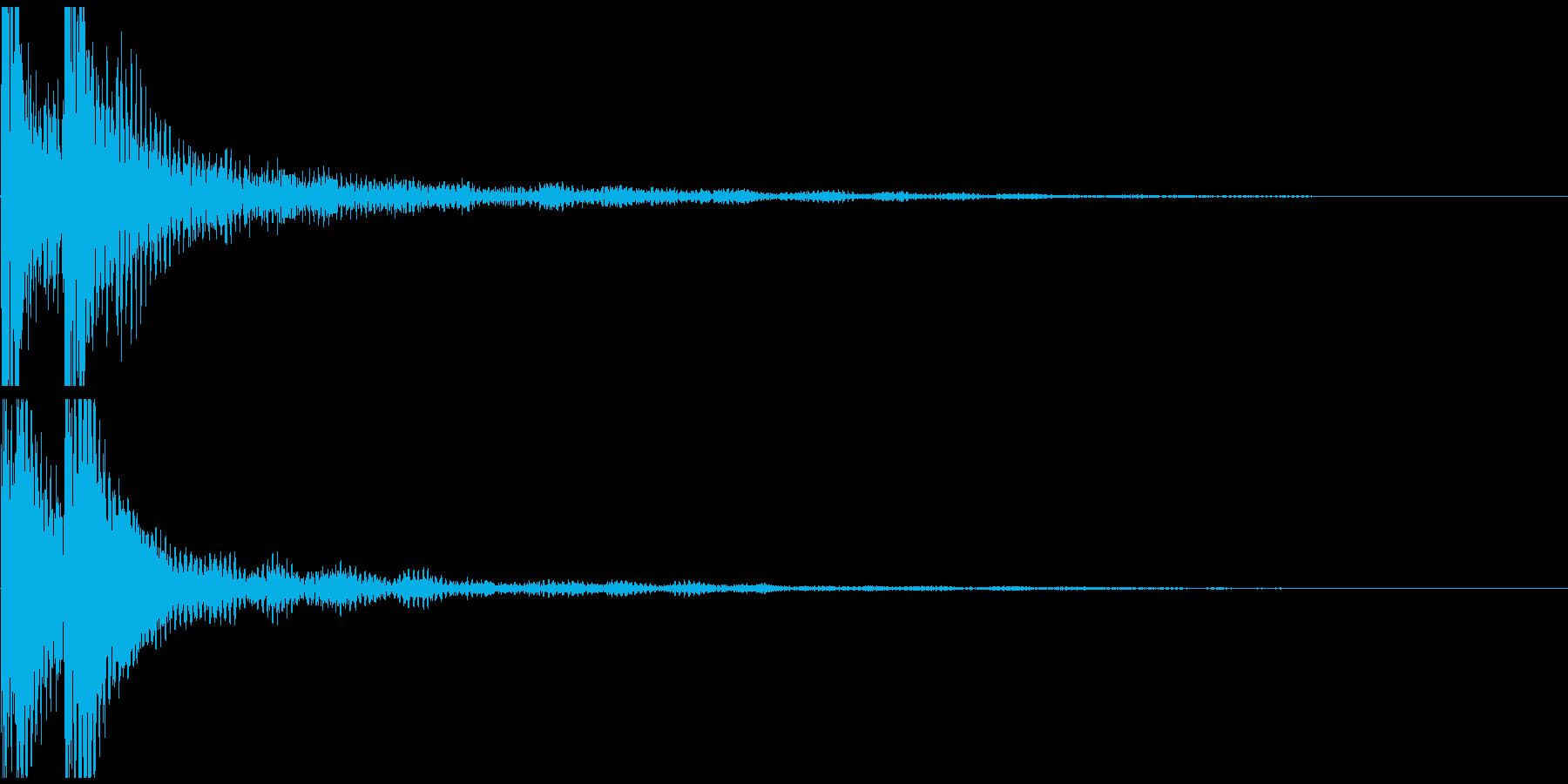 ベベン! 和風 三味線の再生済みの波形
