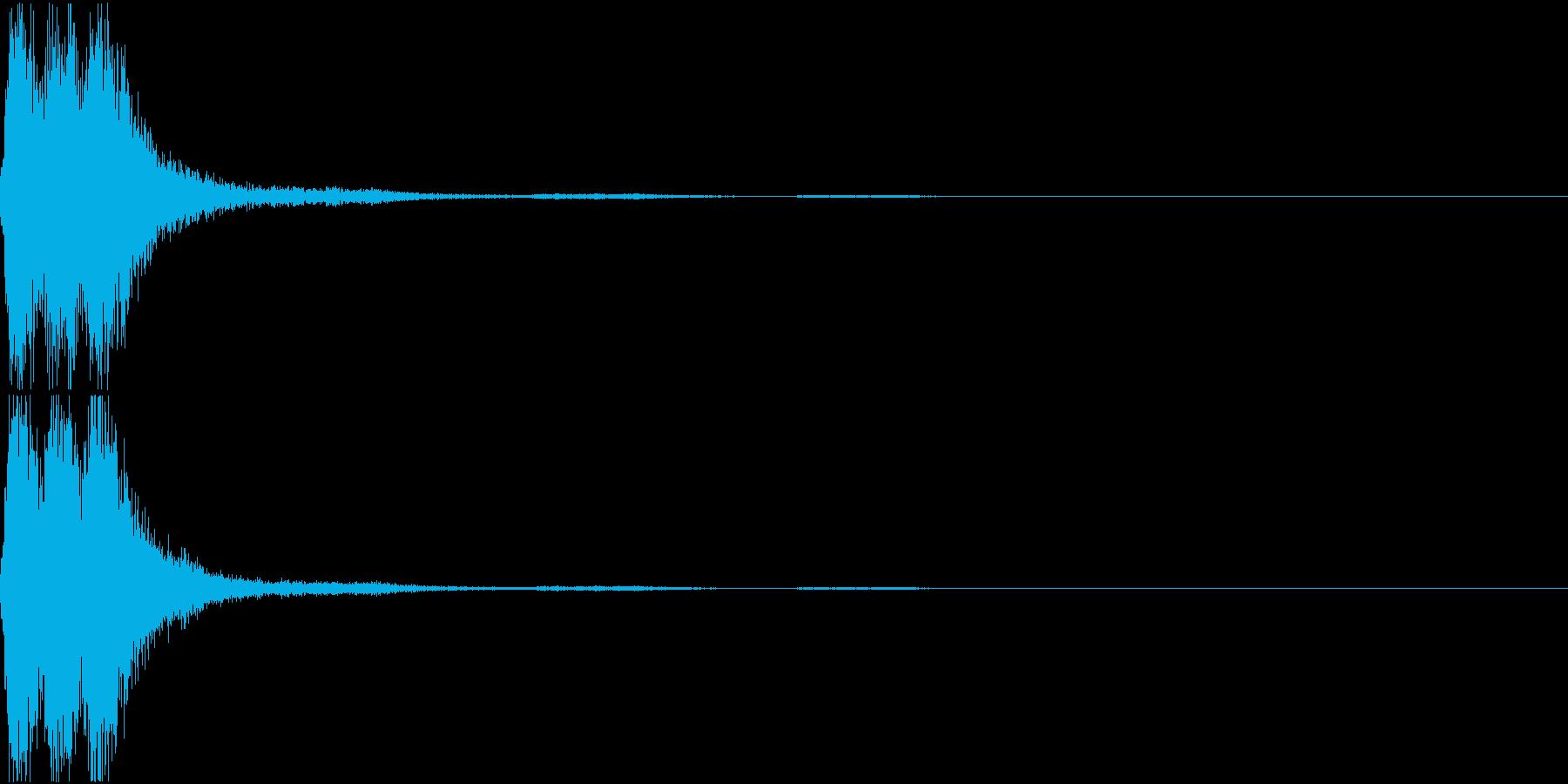 ラッパ ファンファーレ 定番 12の再生済みの波形