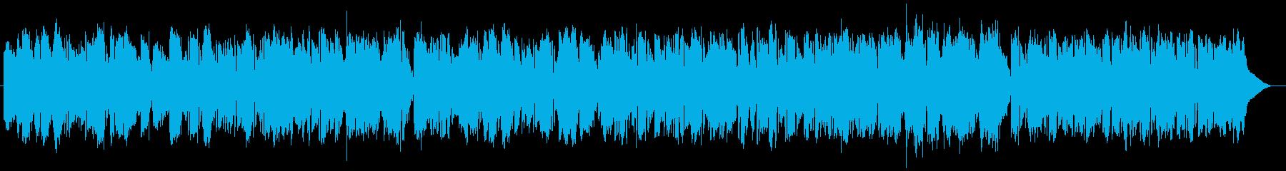 切なく感動的なストリングスバラードの再生済みの波形