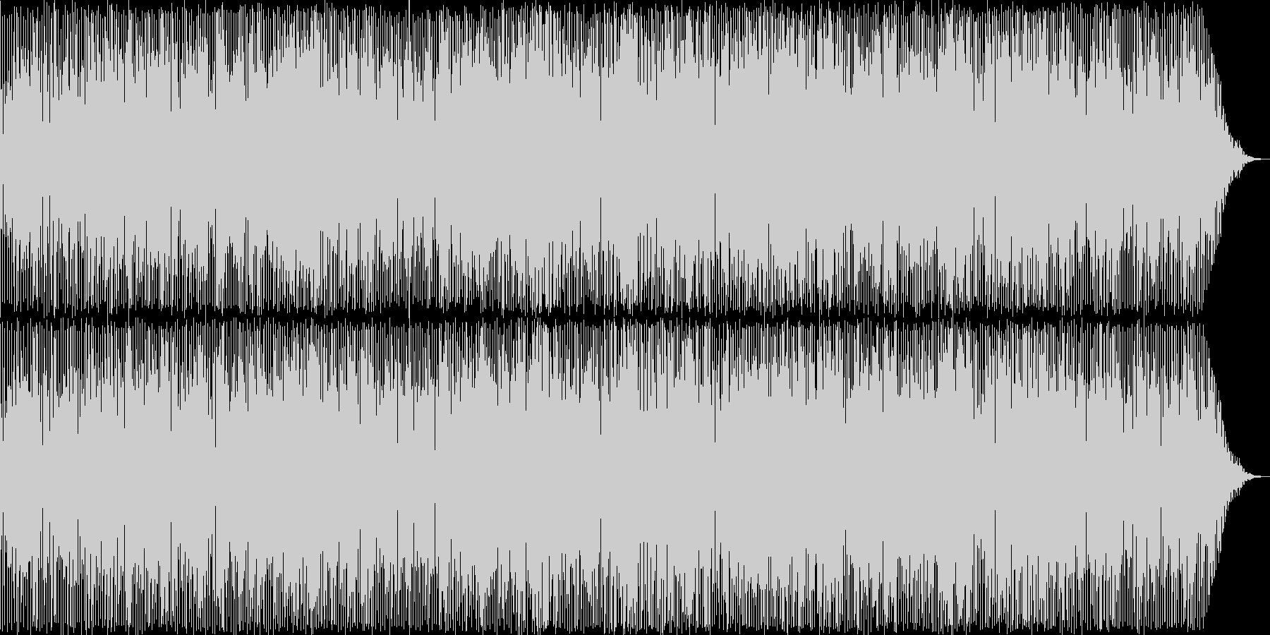 日常の明るい休日のお昼のイメージの楽曲の未再生の波形