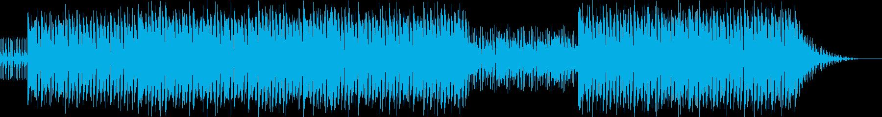 エレピとシンセのきれいなハウスの再生済みの波形
