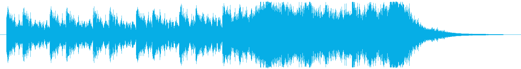 壮大/始まり/迫力/オーケストラの再生済みの波形
