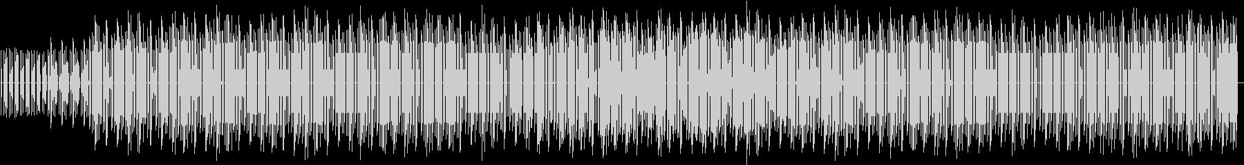 投稿動画の前置き解説BGMの未再生の波形