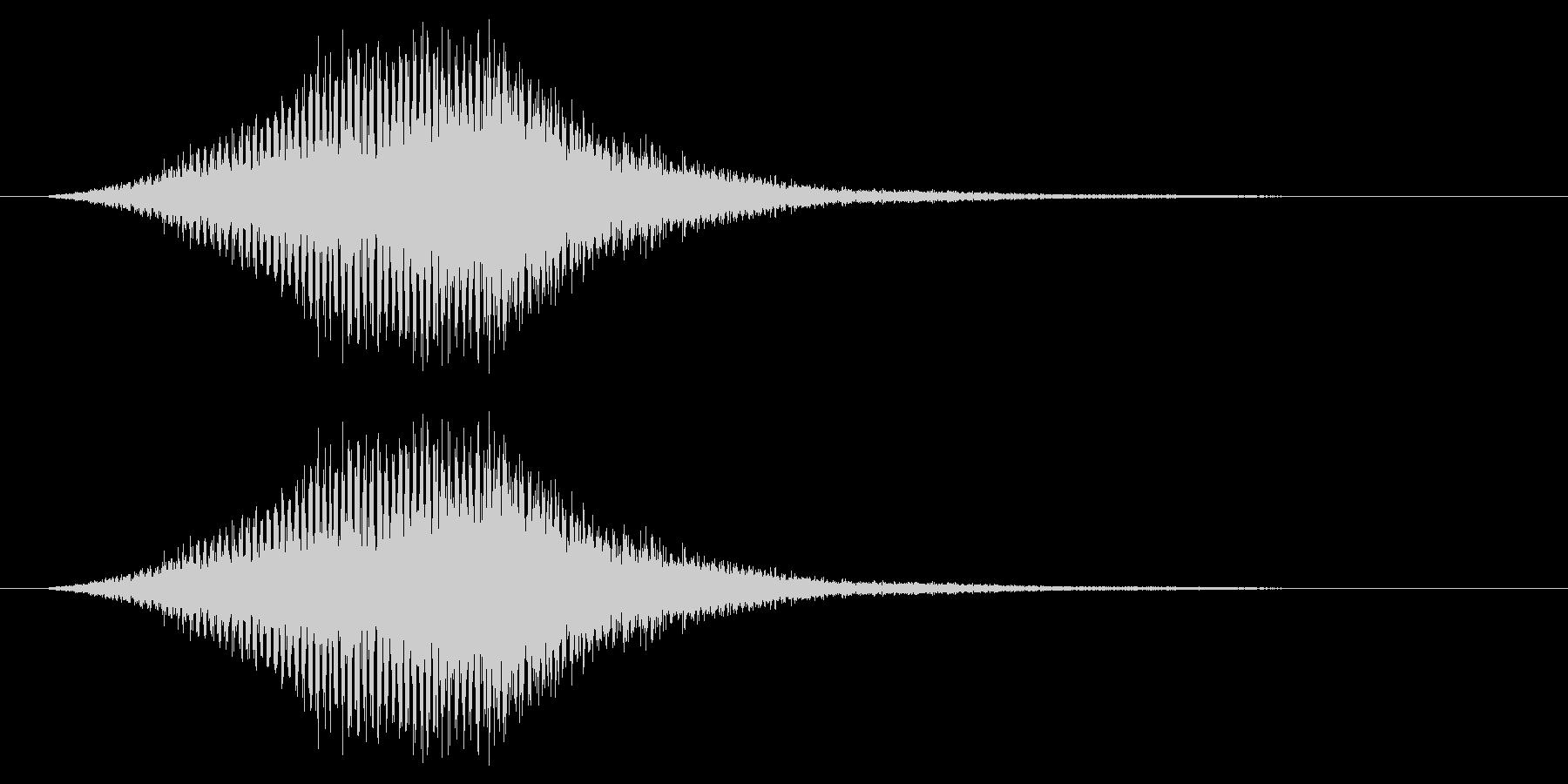 シューン/ワープ/宇宙船/SFの未再生の波形