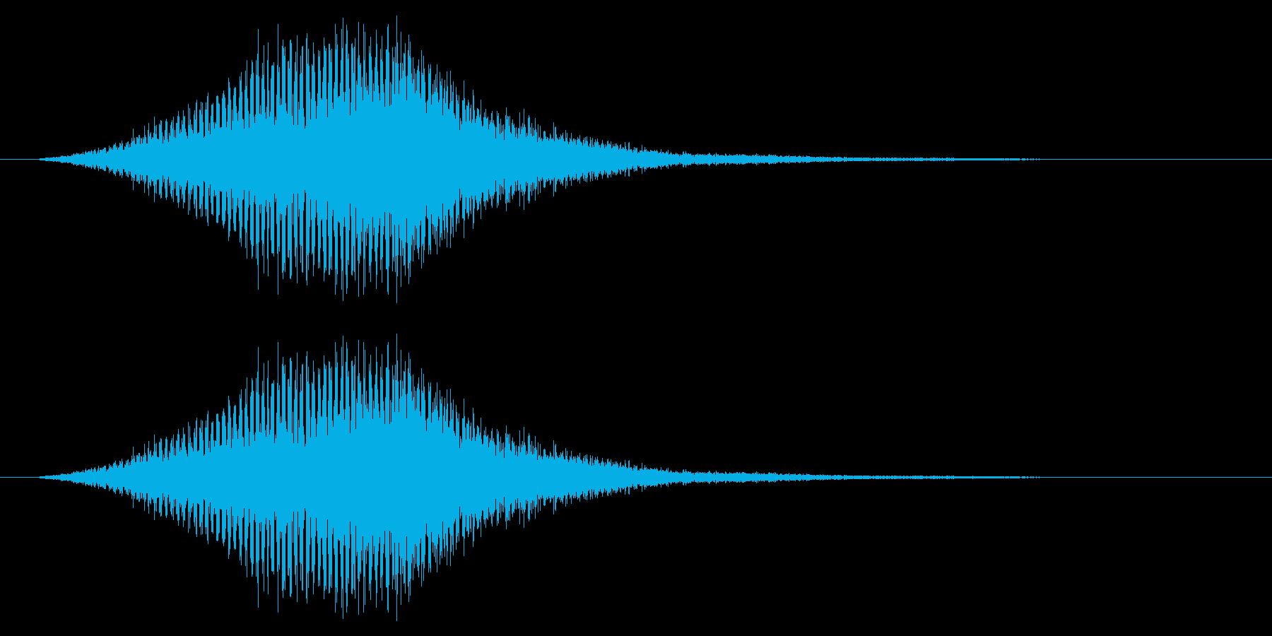シューン/ワープ/宇宙船/SFの再生済みの波形