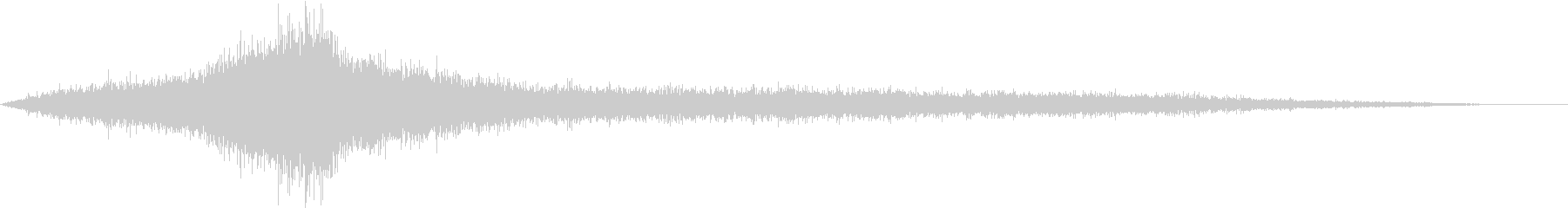 【生録音】建設会社のトラックの通る音の未再生の波形