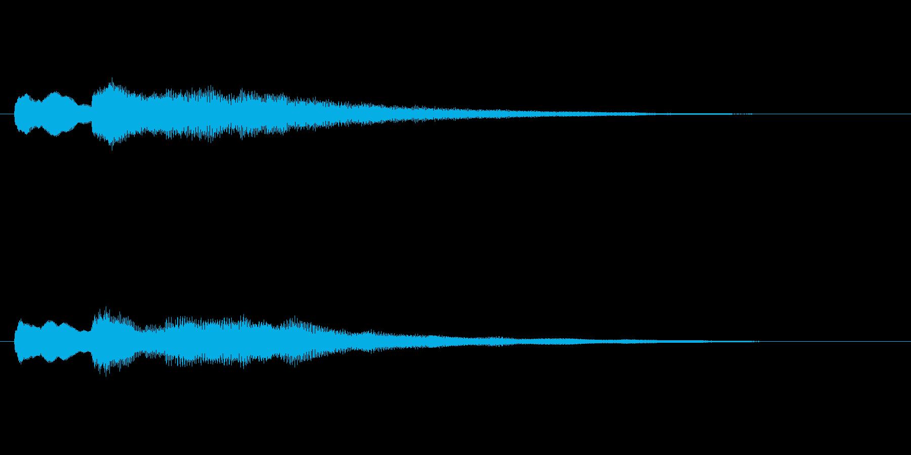 【チャイム 学校02-12】の再生済みの波形