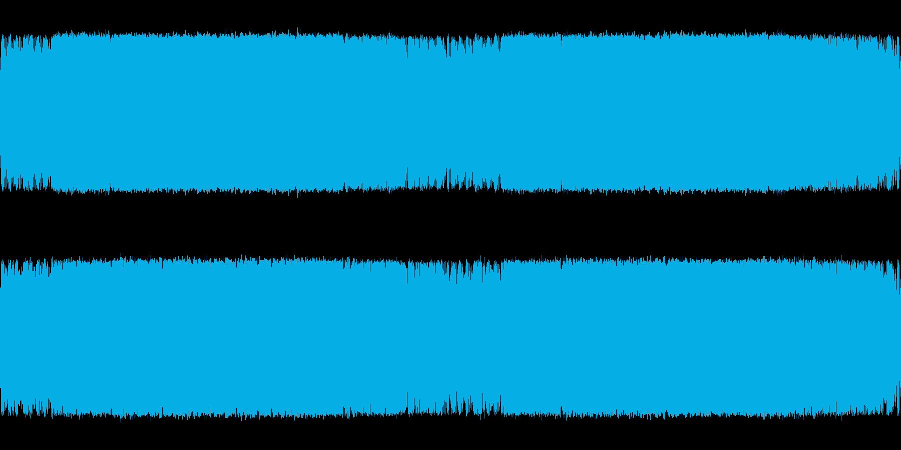 緊迫感のある電子系ボス系の曲<loop…の再生済みの波形