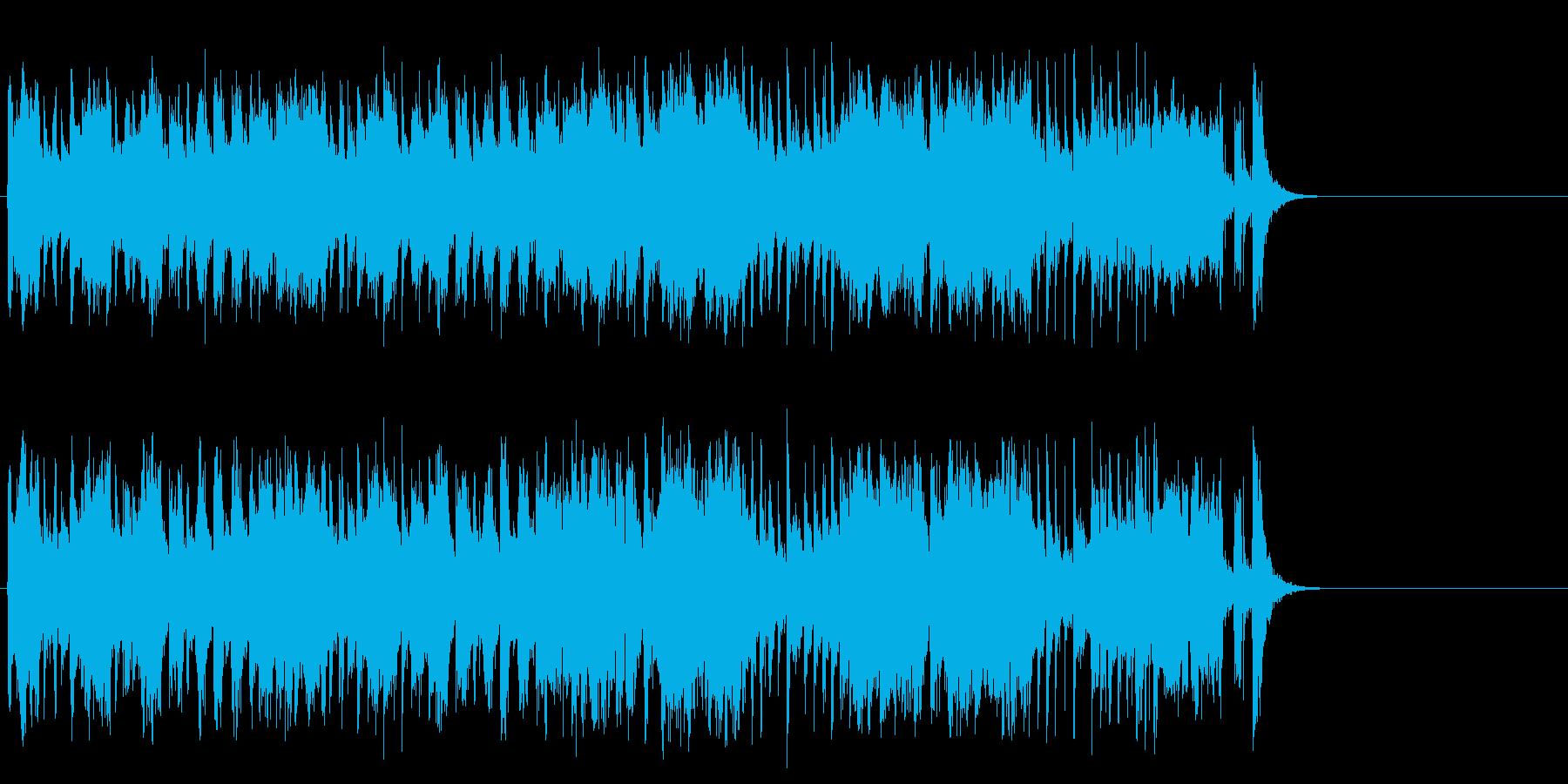 軽快なポップ R&R(サビ)の再生済みの波形