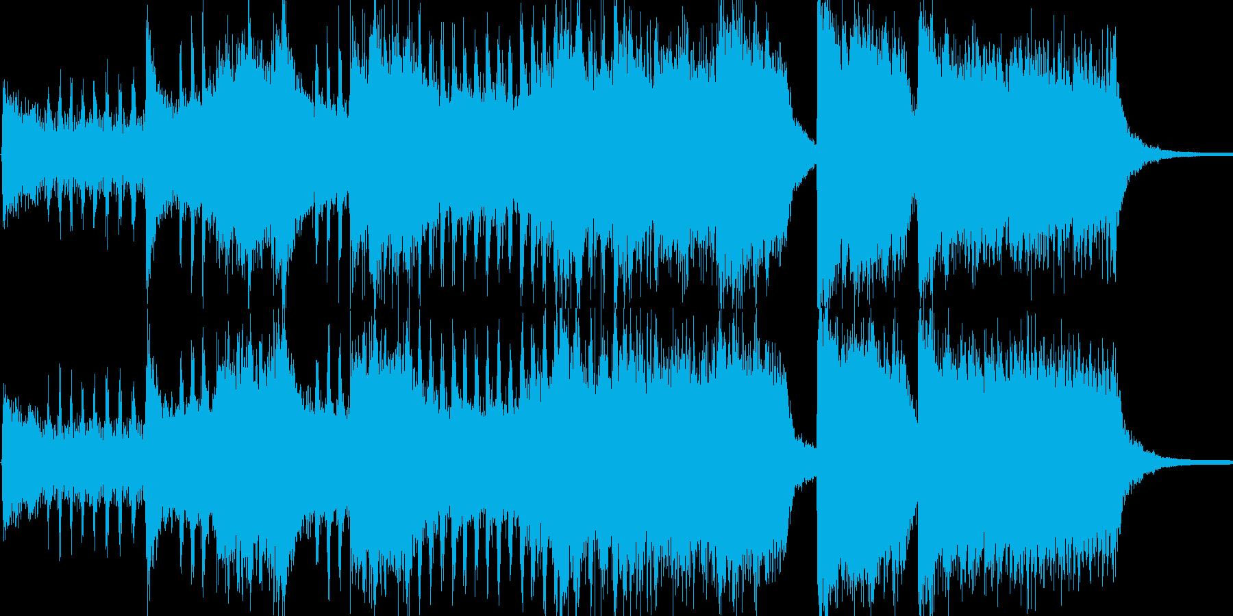 開会式を想定した明るいファンファーレで…の再生済みの波形