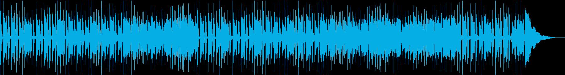 ポップなギターとウクレレの楽曲です。の再生済みの波形
