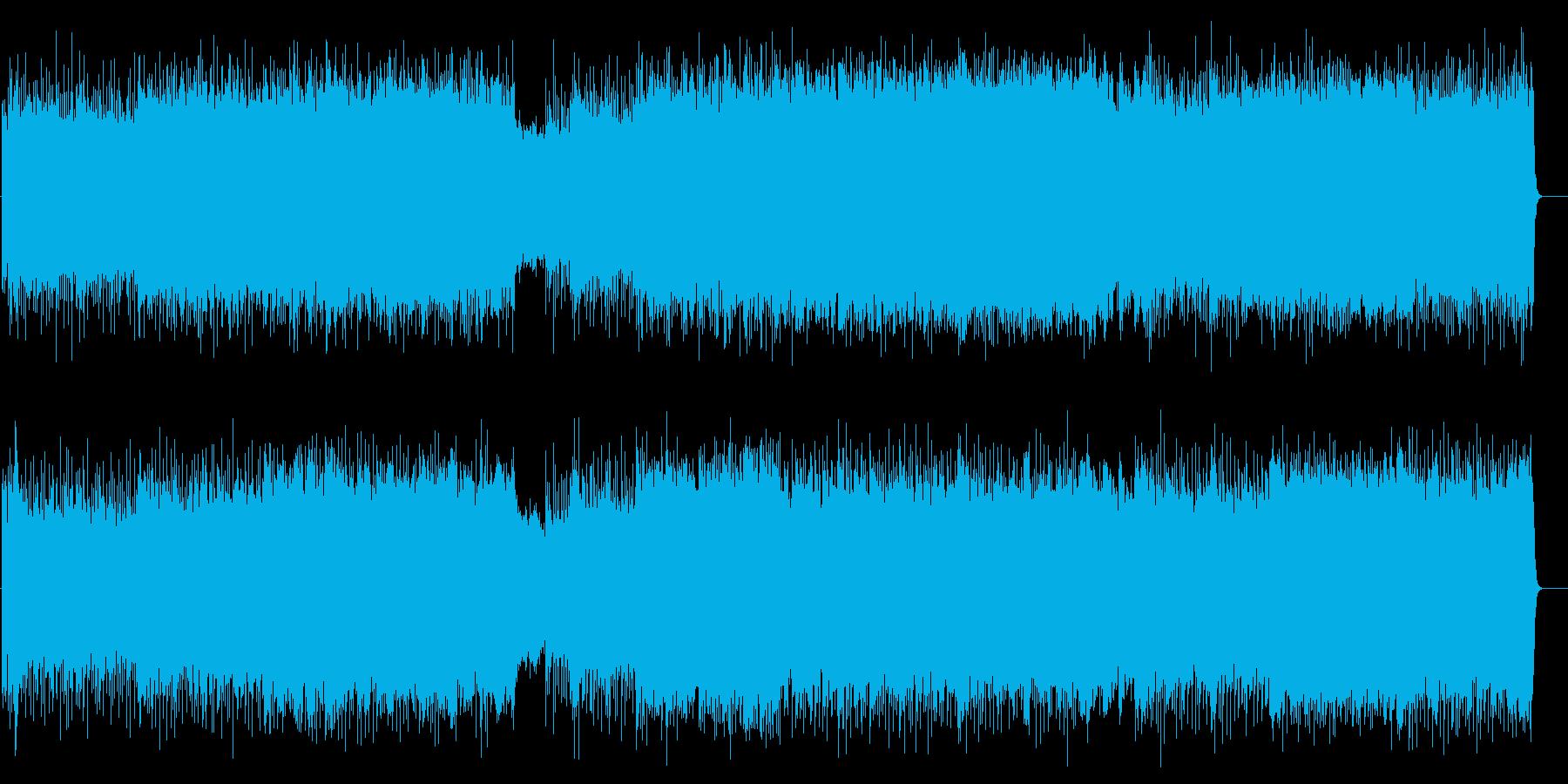 ドラマチックに展開する様式美マイナーHMの再生済みの波形
