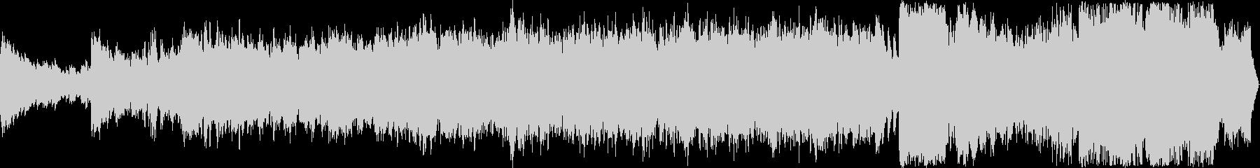 豪華なフィールドBGM、ループ仕様の未再生の波形