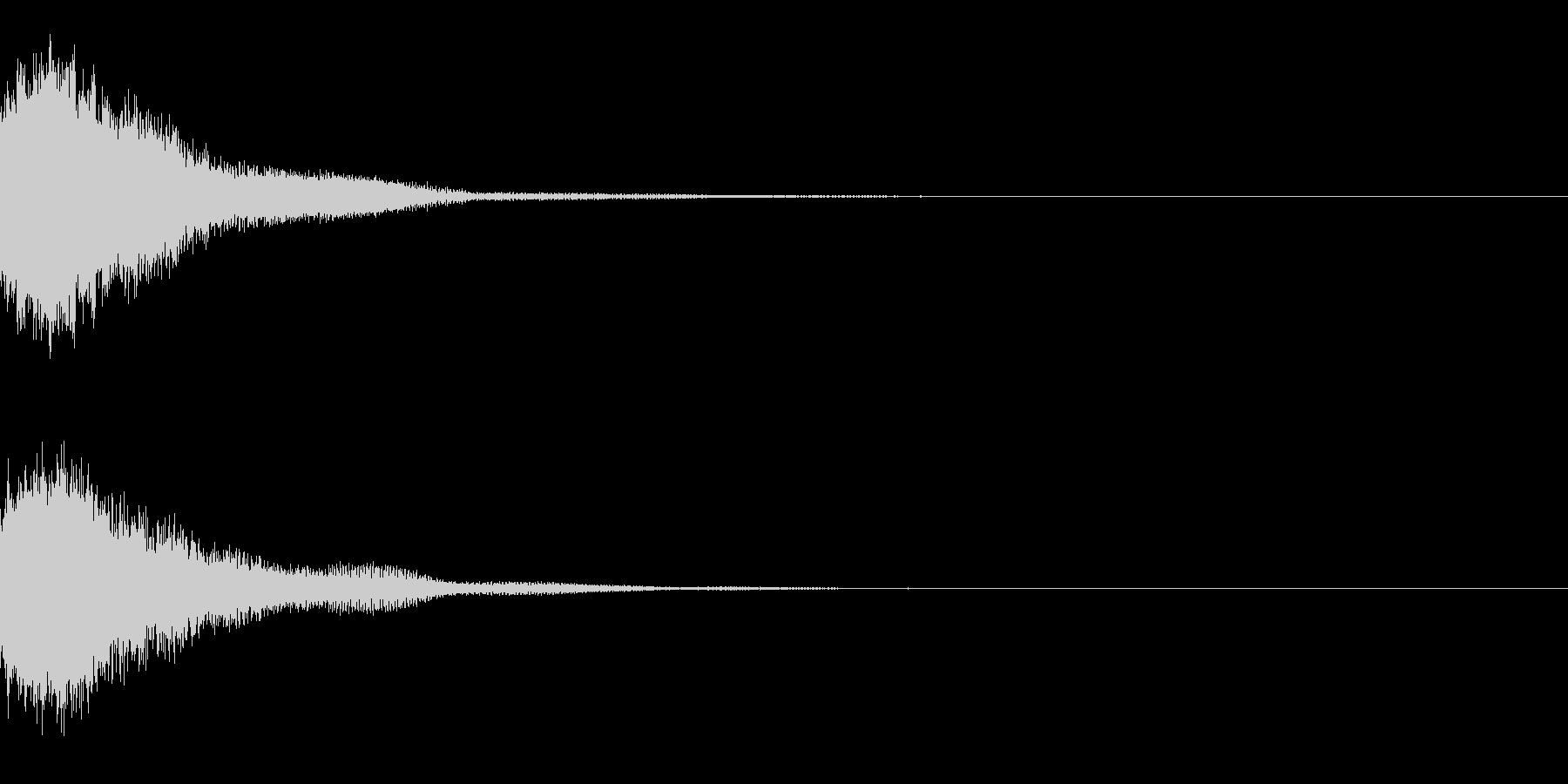 システム起動音_その6の未再生の波形
