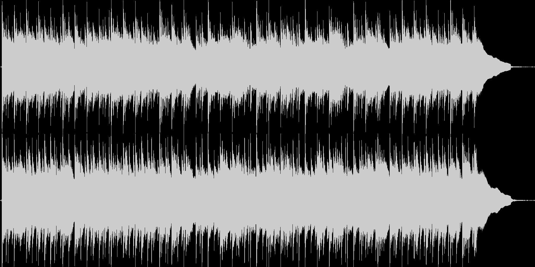 3連符の物悲しいアコースティックギター曲の未再生の波形