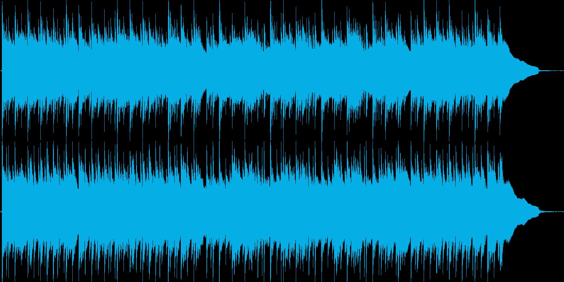 3連符の物悲しいアコースティックギター曲の再生済みの波形