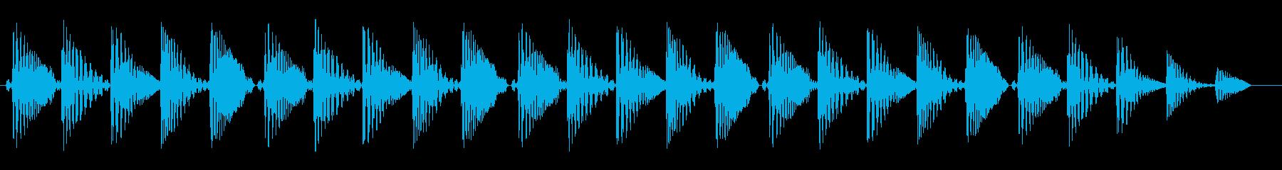 プワプワプワ(飛行機)の再生済みの波形