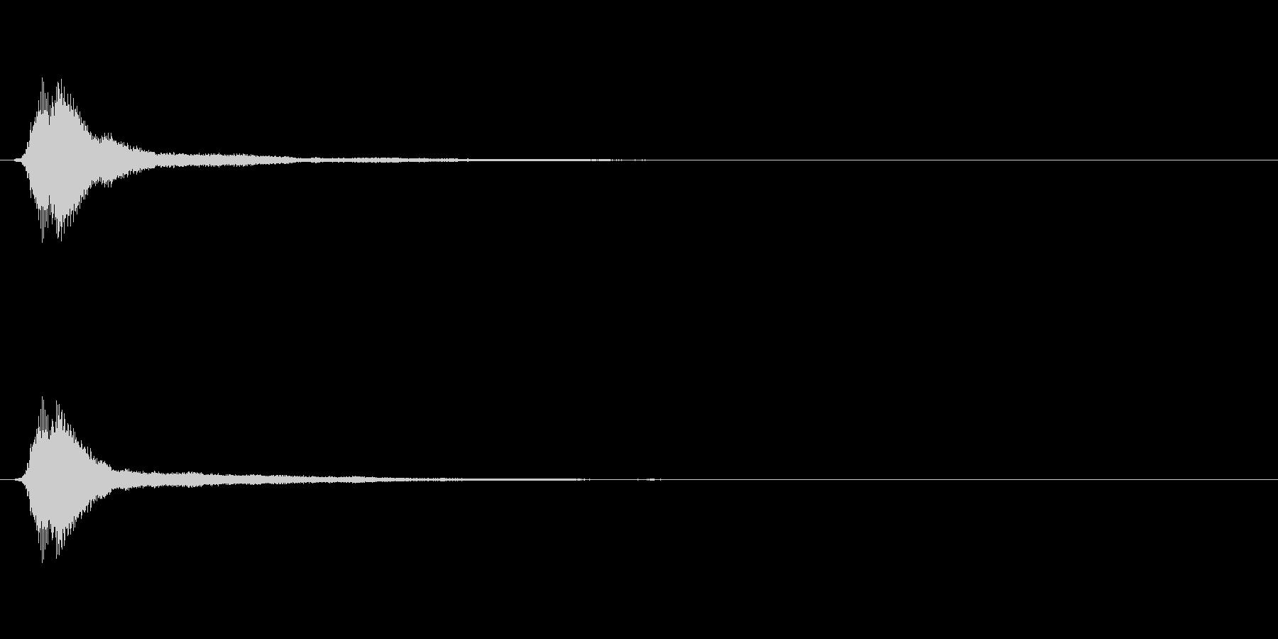 サウンドロゴ(企業ロゴ)_010の未再生の波形