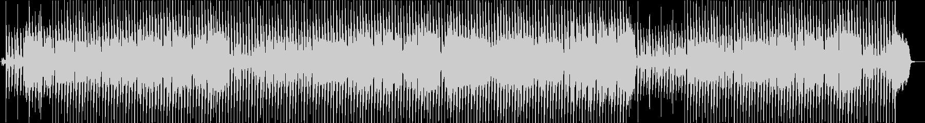 トランペットが奏でる軽快なBGMの未再生の波形