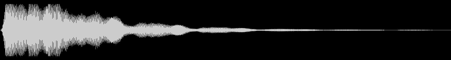 【ホラー】暗く不気味な音の未再生の波形