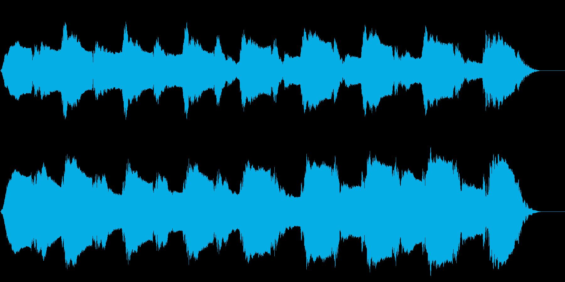 ピーポーピーポーの再生済みの波形