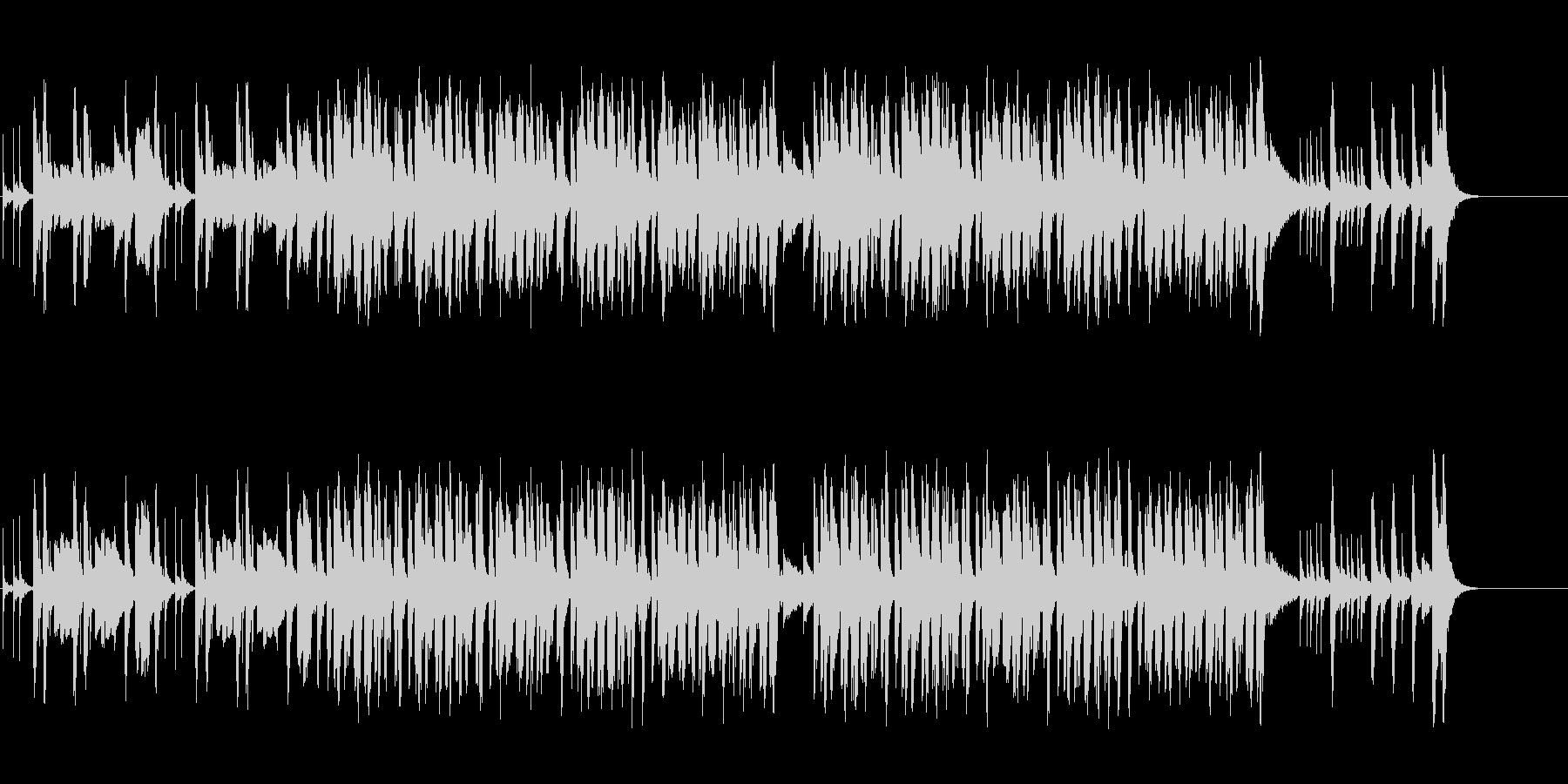 コミカルなポップ/和風/マイナーの未再生の波形