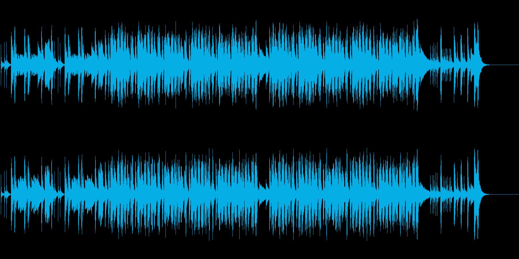 コミカルなポップ/和風/マイナーの再生済みの波形