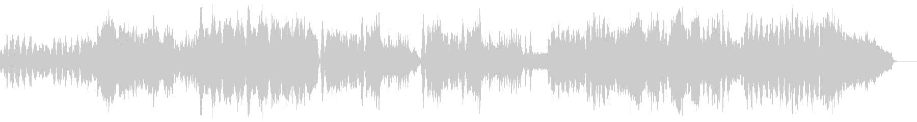 チャイコフスキー四季 11月 トロイカの未再生の波形