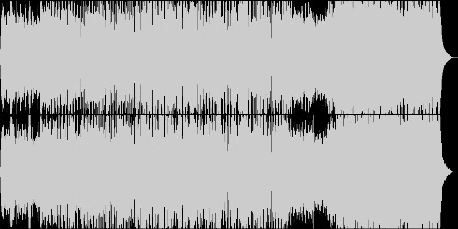 高揚感のある企業VP向けピアノメロディの未再生の波形