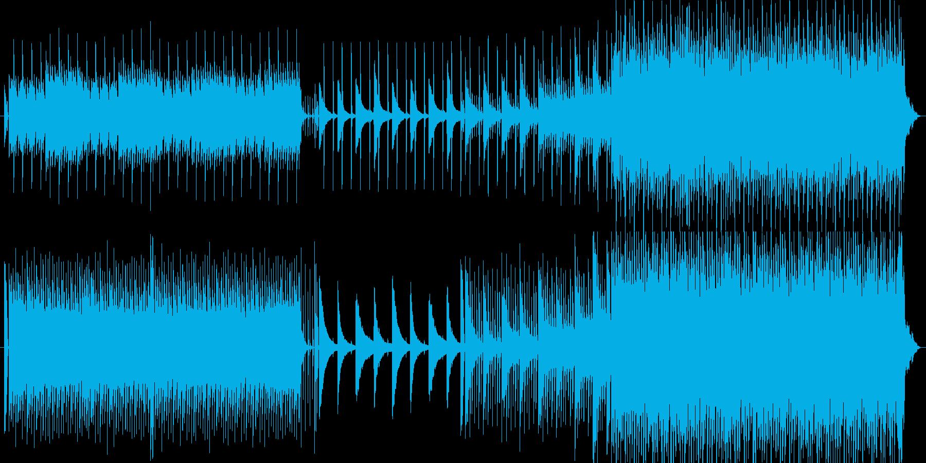 【ピアノ】夏 山 爽やかの再生済みの波形