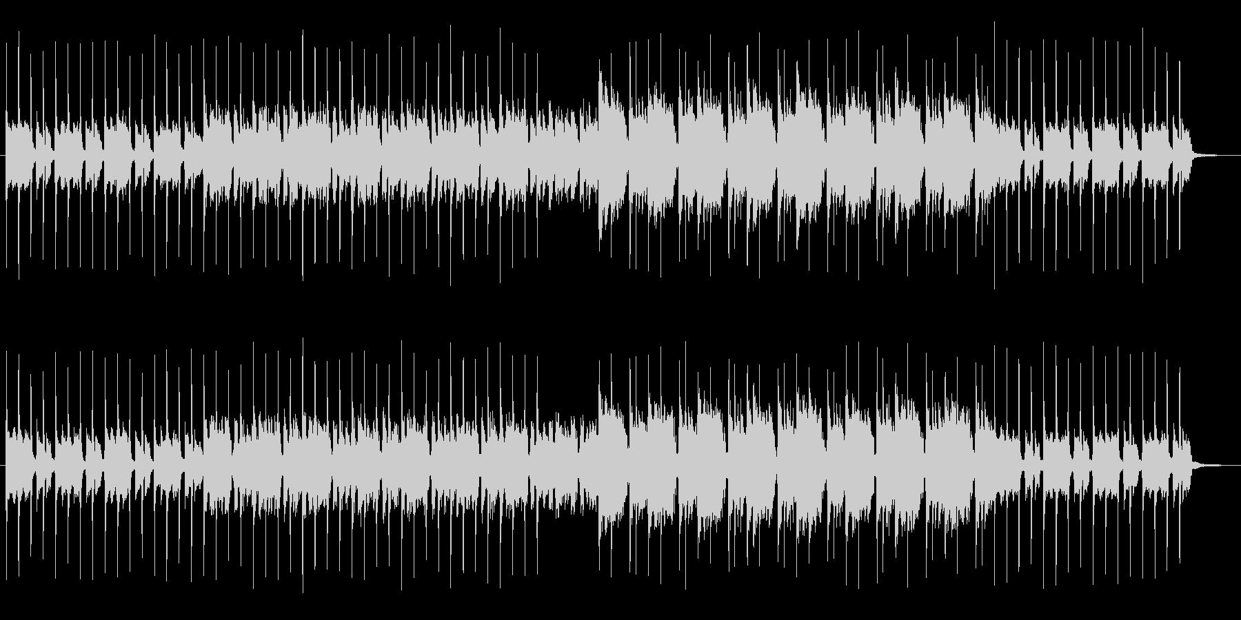 紹介動画 映像 CMに シンセポップの未再生の波形