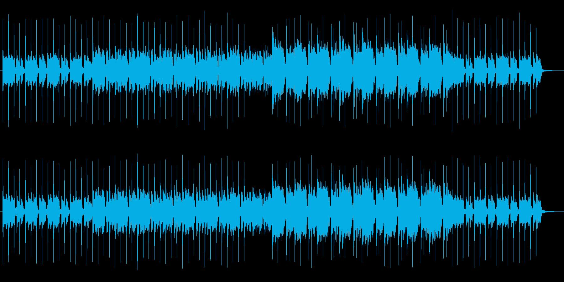 紹介動画 映像 CMに シンセポップの再生済みの波形